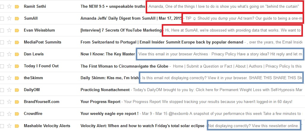 Most important part of an email? – 5 Minute Marketer